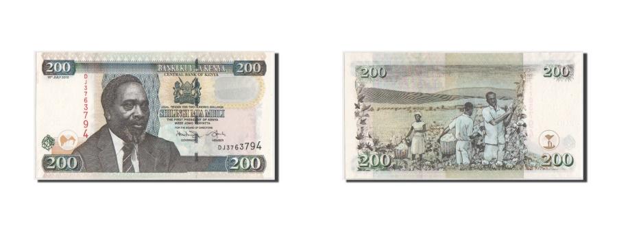 World Coins - Kenya, 200 Shillings, 2010, KM:49e, 16.7.2010, UNC