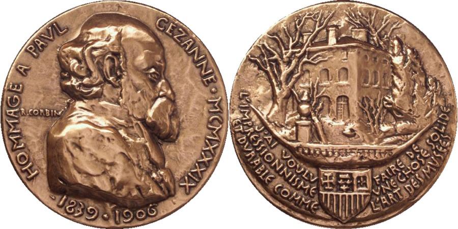 World Coins - FRANCE, Arts & Culture, The Fifth Republic, Medal, , Corbin, Bronze,...