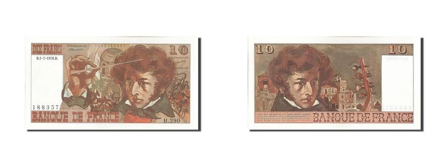 World Coins - France, 10 Francs, 10 F 1972-1978 ''Berlioz'', 1976, KM #150c, 1976-07-01,...