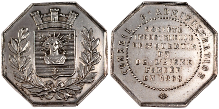 World Coins - France, Industry, Token, , Silver, 15.44