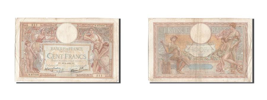 World Coins - France, 100 Francs, 100 F 1908-1939 ''Luc Olivier Merson'', 1939, KM #86b,...