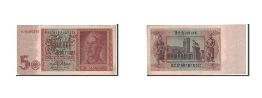 World Coins - Germany, 5 Reichsmark, 1942, KM:186a, 1942-08-01, AU(50-53)