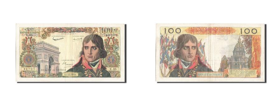 World Coins - France, 100 Nouveaux Francs, 100 NF 1959-1964 ''Bonaparte'', 1959, KM #144a,...