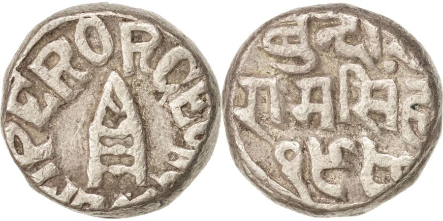 World Coins - INDIA-PRINCELY STATES, BUNDI, George V, Rupee, 1923, Silver, KM:18.2