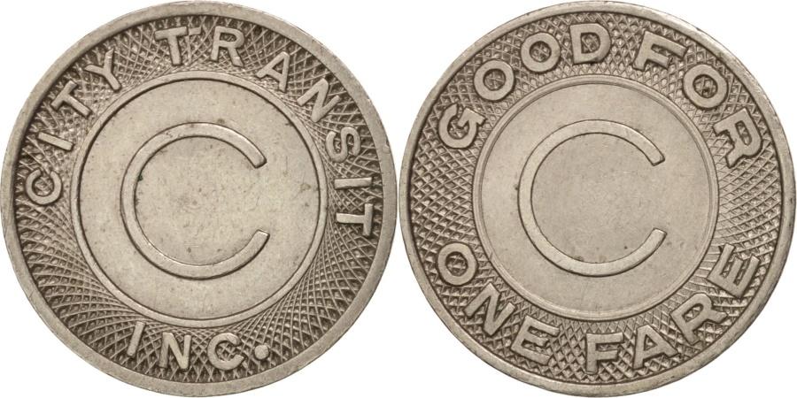 US Coins - United States, Token, City Transit Inc.