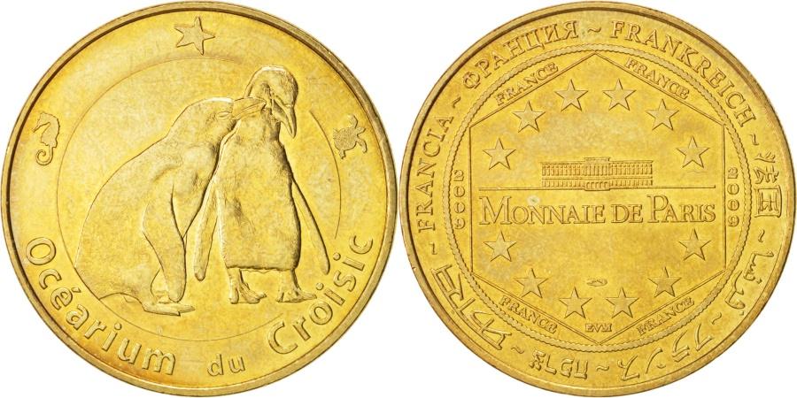 World Coins - Tourist Token, Océarium du Croisic, 2009, , Monnaie de Paris