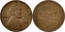 Us Coins - United States, Lincoln Cent, Cent, 1953, U.S. Mint, Philadelphia, EF(40-45)