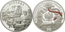 World Coins - Coin, Poland, 20 Zlotych, 2004, Warsaw, MS(65-70), Silver, KM:508