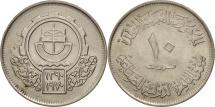 World Coins - Egypt, 10 Piastres, 1970, AU(55-58), Copper-nickel, KM:421.1