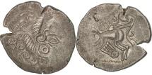 Coriosolites, Area of Corseul, Stater, AU(50-53), Billon, Delestrée:-