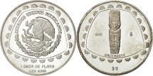 World Coins - Mexico, 5 Pesos, 1998, Mexico City, MS(63), Silver, KM:664