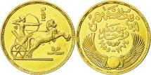 World Coins - Coin, Egypt, Pound, 1955, AU(55-58), Gold, KM:387