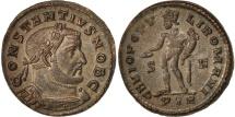 Constantius I, Follis, Trier, MS(60-62), Bronze, RIC:602a