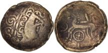 Ancient Coins - Helvetii, Current Switzerland, Stater, EF(40-45), Electrum, Delestrée:manque.