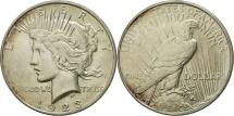 Us Coins - United States, Peace Dollar, Dollar, 1923, Denver, EF(40-45), Silver, KM 150