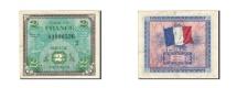 France, 2 Francs, 1944, KM:114a, 1944, VF(30-35), Fayette:VF16.2