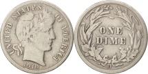 United States, Barber Dime, Dime, 1910, U.S. Mint, Denver, F(12-15), Silver