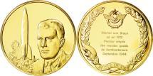 World Coins - France, Medal, L'Histoire de la Conquête de l'Air, Werner von Braun, Aviation