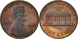 Us Coins - United States, Lincoln Cent, Cent, 1980, U.S. Mint, Denver, , Brass