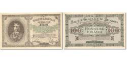 World Coins - Banknote, Belgium, 100 Francs, 1917, 1917-12-06, KM:90, UNC(60-62)