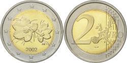 World Coins - Finland, 2 Euro, 2002, , Bi-Metallic, KM:105