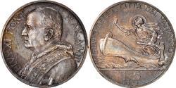 World Coins - Coin, VATICAN CITY, Pius XI, 5 Lire, 1929, Roma, , Silver, KM:7