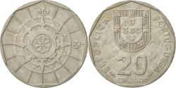 World Coins - Portugal, 20 Escudos, 1989, Lisbon, , Copper-nickel, KM:634.1
