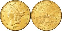Us Coins - Coin, United States, Liberty Head, $20, Double Eagle, 1899, U.S. Mint, San