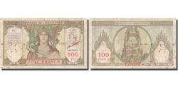 World Coins - Banknote, Tahiti, 100 Francs, Undated (1939-65), KM:14d, VF(20-25)