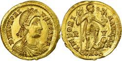 Coin, Honorius, Solidus, Ravenna, , Gold, RIC:1287