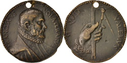 World Coins - Italy, Medal, Francesco Capriani De Volterrano, Arts & Culture, XVIth Century
