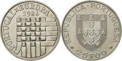 World Coins - Coin, Portugal, 25 Escudos, 1986, , Copper-nickel, KM:635