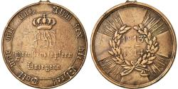 World Coins - Germany, Prusse, Campagne contre Napoléon Ier, Medal, 1813-1814, Very Good