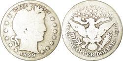 Us Coins - Coin, United States, Barber Quarter, Quarter, 1899, U.S. Mint, Philadelphia