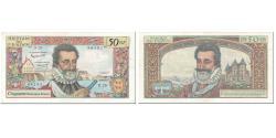 World Coins - France, 50 Nouveaux Francs, Henri IV, 1959, 1959-09-03, VF(30-35), Fayette:58.3