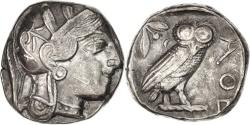 Ancient Coins - Attica, Athens (490-407 BC), Tetradrachm, Athens, , Silver, SNGCop...