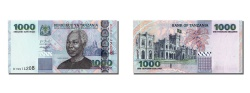 World Coins - Tanzania, 1000 Shilingi, KM #36a, UNC(65-70), DT 9914208