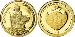World Coins - Coin, Palau, Christophe Colomb, Dollar, 2006, , Gold