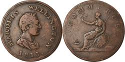 World Coins - Coin, Canada, Marquis Wellington, Halfpenny Token, 1813, , Copper