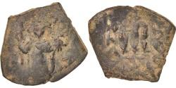 Ancient Coins - Constans II 641-668, Follis, Constantinople, , Copper