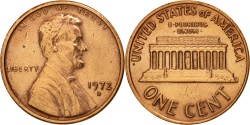 Us Coins - United States, Lincoln Cent, Cent, 1972, U.S. Mint, Denver,