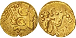 Ambiani, Area of Amiens, Stater, AU(50-53), Gold, Delestré:161