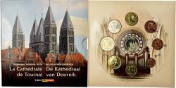 World Coins - Belgium, Set, Cathédrale de Tournai, 2009