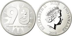World Coins - Coin, Niue, 90ème anniversaire de Mickey Mouse, 2 Dollars, 2018, Proof