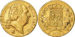 Ancient Coins - Coin, France, Louis XVIII, 20 Francs, 1820, Paris, , Gold, KM:712.1