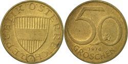 World Coins - Coin, Austria, 50 Groschen, 1976, , Aluminum-Bronze, KM:2885
