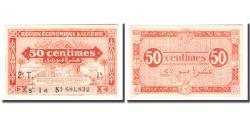 World Coins - Banknote, Algeria, 50 Centimes, 1944, 1944-01-31, KM:100, UNC(64)