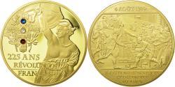 Us Coins - France, Medal, 225 Ans de la Révolution Française, Abolition des Privilèges