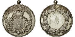 World Coins - France, Medal, Concours Musical, Ville de Cormeilles, 1891, AU(55-58), Silvered