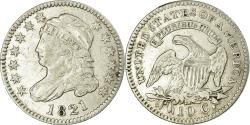Us Coins - Coin, United States, Liberty Cap Dime, Dime, 1821, U.S. Mint, Philadelphia